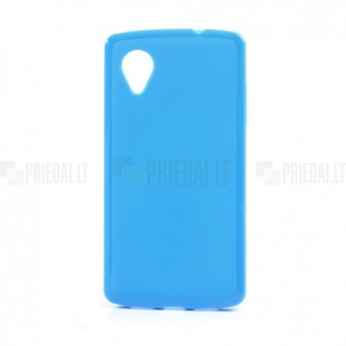 """""""Jelly Case"""" mėlynas LG Nexus 5 E980 dėklas"""