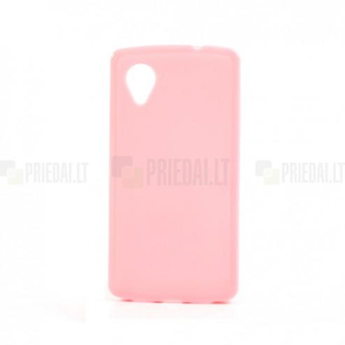 """""""Jelly Case"""" rožinis LG Nexus 5 E980 dėklas"""