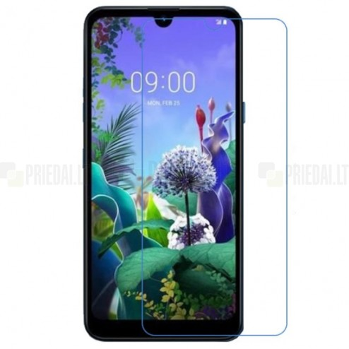 LG Q60 apsauginė skaidri ekrano plėvelė