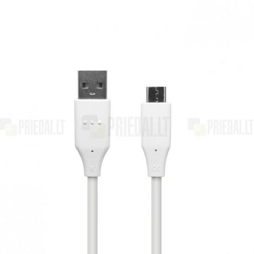 Oficialus LG Type-C USB baltas laidas 1 m (DC12WK-G, originalus)