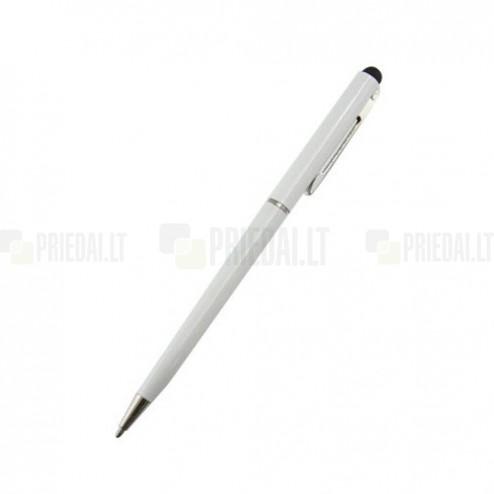 Baltas liestukas su integruotu rašikliu (angl. Stylus Pen)