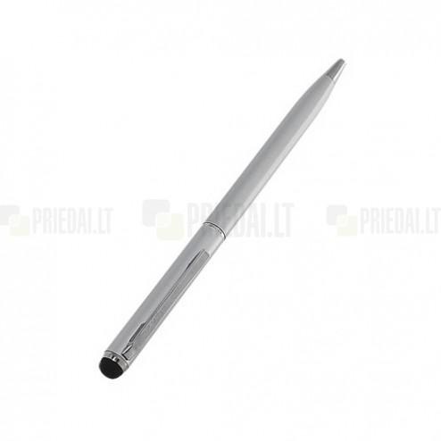 Sidabrinis liestukas su integruotu rašikliu (angl. Stylus Pen)