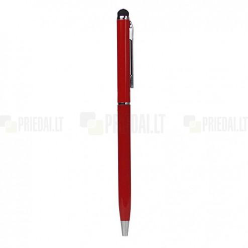 Raudonas liestukas su integruotu rašikliu (angl. Stylus Pen)
