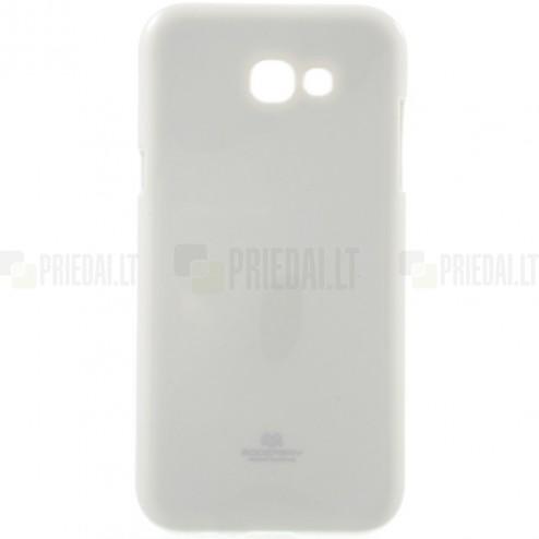 Samsung Galaxy A5 2017 (A520) Mercury baltas kieto silikono TPU dėklas - nugarėlė