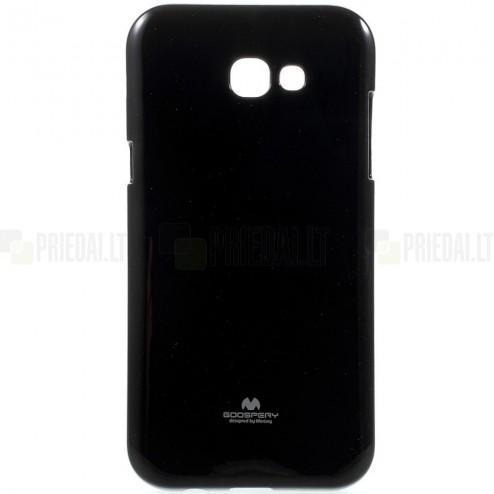 Samsung Galaxy A5 2017 (A520) Mercury juodas kieto silikono TPU dėklas - nugarėlė