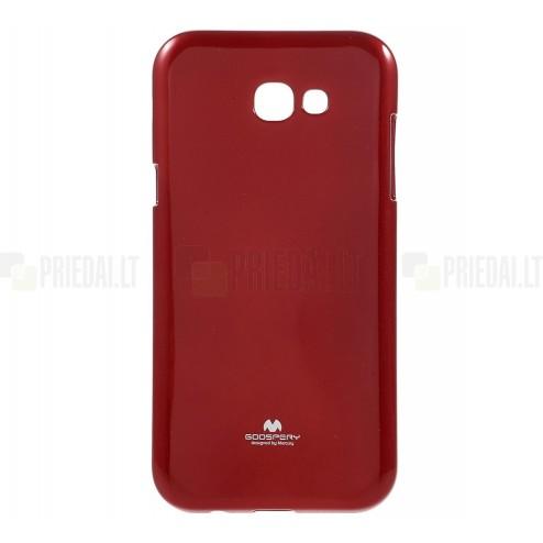 Samsung Galaxy A5 2017 (A520) Mercury raudonas kieto silikono TPU dėklas - nugarėlė