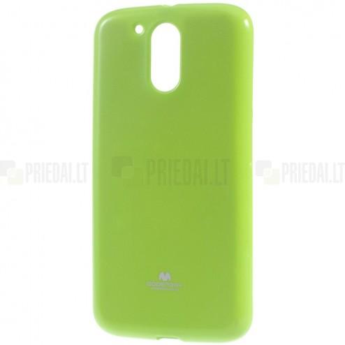 Motorola Moto G4, Moto G4 Plus žalias Mercury kieto silikono (TPU) dėklas