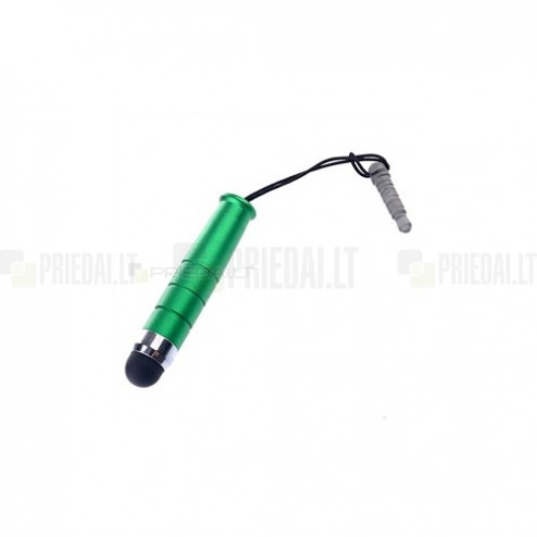 Žalias metalinis mini liestukas (angl. mini Stylus Pen)