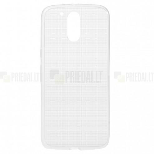 Motorola Moto Moto G4, Moto G4 Plus skaidrus (permatomas) kieto silikono TPU ploniausias pasaulyje dėklas
