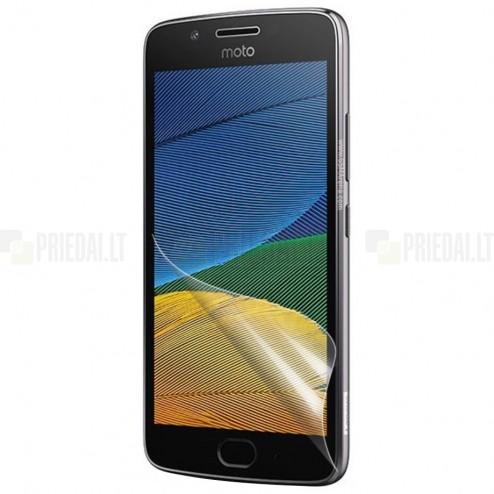 Motorola Moto G 5 kartos (Gen 5) apsauginė skaidri ekrano plėvelė