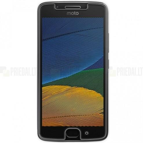 """Motorola Moto G 5 kartos (Gen 5) """"Nillkin"""" H Tempered Glass sustiprintos apsaugos apsauginis ekrano stiklas 0.33 mm"""