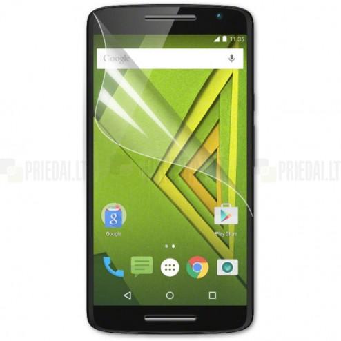 Motorola Moto X Play apsauginė skaidri ekrano plėvelė