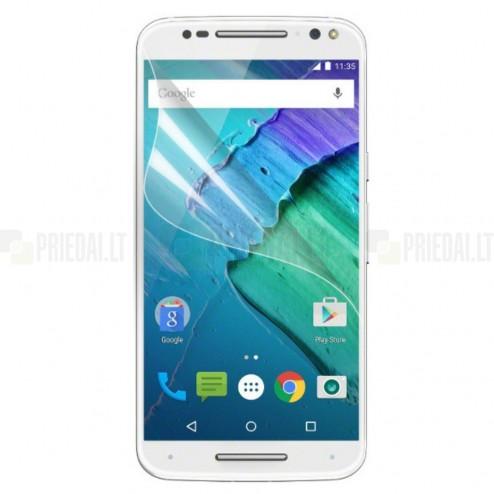 Motorola Moto X Style apsauginė skaidri ekrano plėvelė