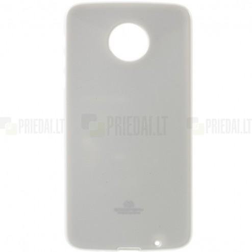 Motorola Moto Z (Moto Z Droid) baltas Mercury kieto silikono (TPU) dėklas