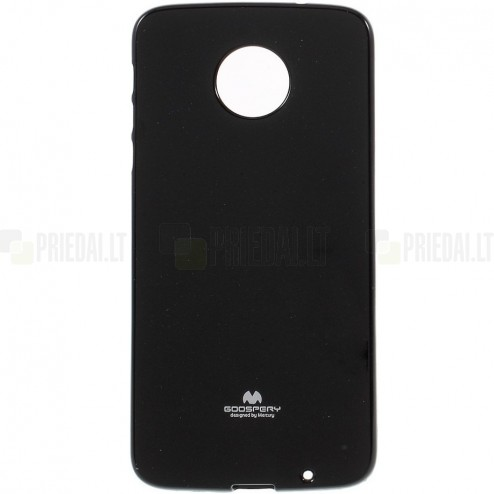 Motorola Moto Z (Moto Z Droid) juodas Mercury kieto silikono (TPU) dėklas