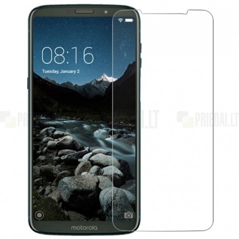 Motorola Moto Z3 Play tempered Glass apsauginis ekrano stiklas 0.3 mm