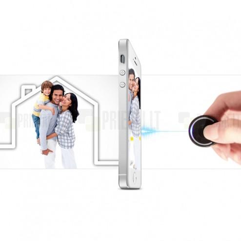 """Nillkin"" Partner Bluetooth juodas multifunkcinis pultelis"