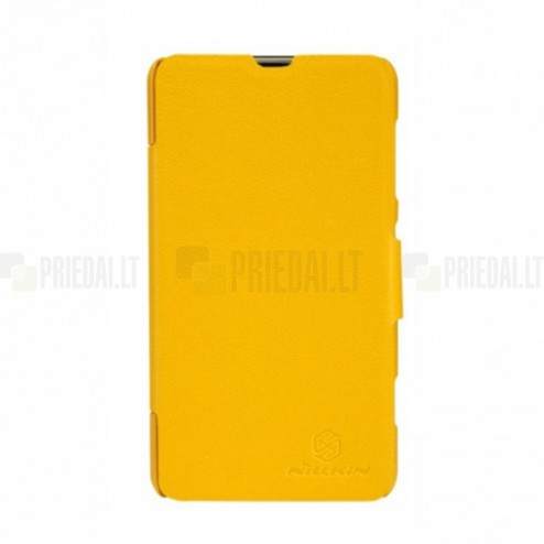 """""""Nillkin"""" Fresh geltonas Nokia Lumia 625 dėklas"""