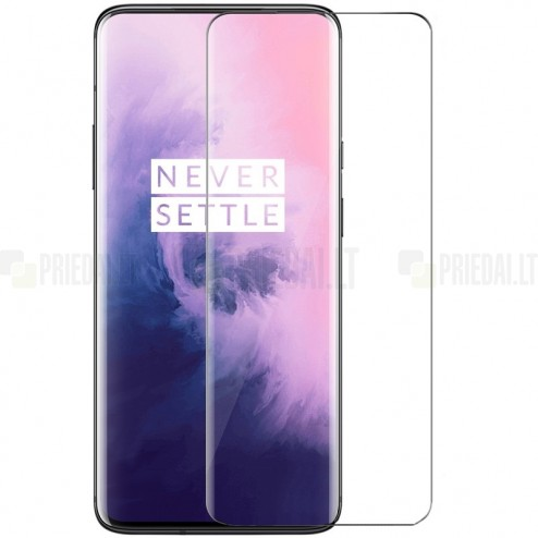 OnePlus 7 Pro (7T Pro) tempered Glass apsauginis ekrano stiklas 0.3 mm