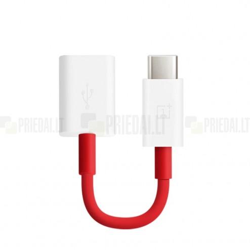 """""""OnePlus"""" Type-C OTG 0202003601 adapteris raudonas"""