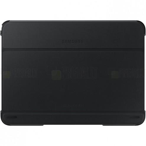 Originalus Samsung Galaxy Tab 4 10.1 (T535, T530) Book Cover atverčiamas juodas odinis dėklas
