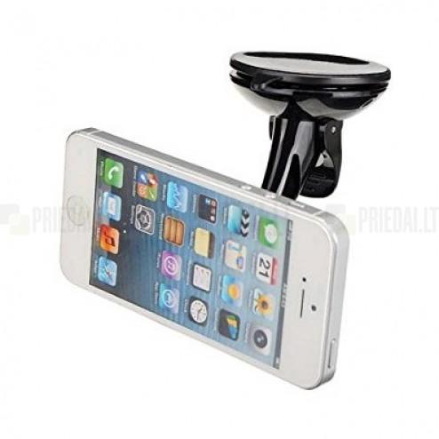 """""""Rock"""" Moc Kit juodas automobilinis telefono laikiklis (prie lango)"""