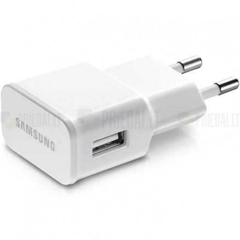 """Originalus """"Samsung"""" baltas kelioninis (sieninis) įkroviklis (2 Amp, ETA-U90EWE)"""
