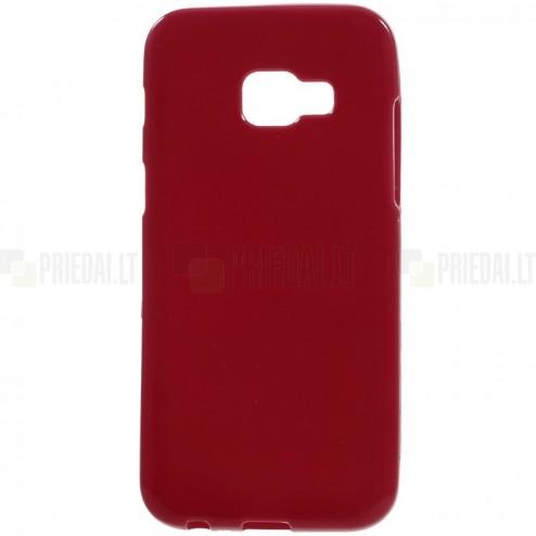 Samsung Galaxy A5 2017 (A520) kieto silikono TPU raudonas dėklas - nugarėlė
