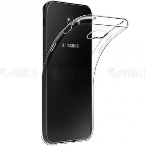 Samsung Galaxy A5 2017 (A520) kieto silikono TPU skaidrus dėklas - nugarėlė