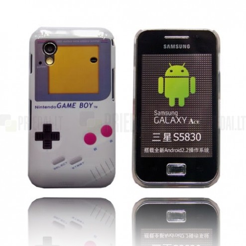 """Gameboy"" Samsung Galaxy Ace S5830 dėklas"
