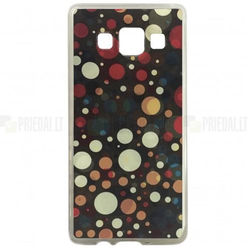 Samsung Galaxy A3 (A300) Bubble kieto silikono (TPU) spalvotas dėklas - nugarėlė