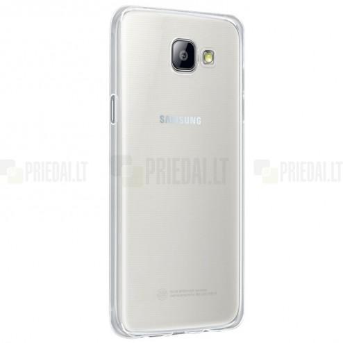 Samsung Galaxy A5 (2016) A510 kieto silikono TPU skaidrus dėklas - nugarėlė