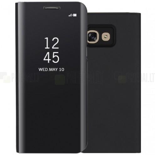 Samsung Galaxy A5 2017 (A520) plastikinis atverčiamas juodas dėklas