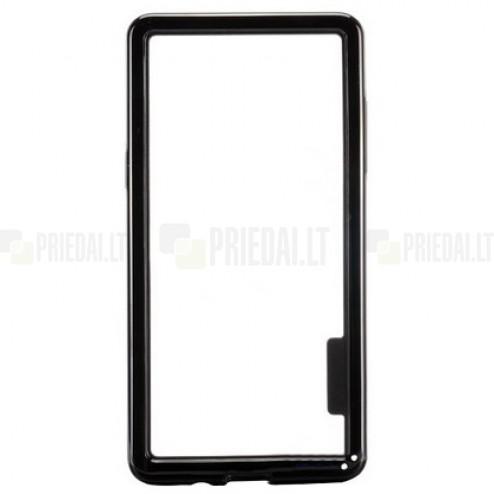 Juodas klasikinis Samsung Galaxy A5 TPU rėmelis - kraštų apvadas (bamperis)
