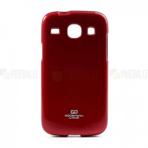 Mercury raudonas Samsung Galaxy Core TPU kieto silikono dėklas (nugarėlė)