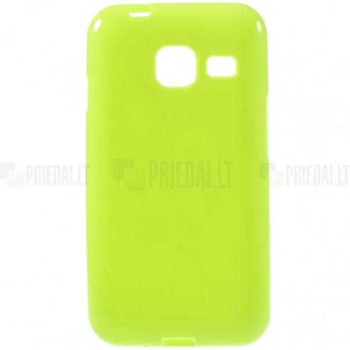 Samsung Galaxy J1 mini (J105) kieto silikono TPU žalias dėklas - nugarėlė