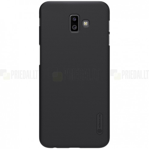 Samsung Galaxy J6+ 2018 (J610) Nillkin Frosted Shield juodas plastikinis dėklas
