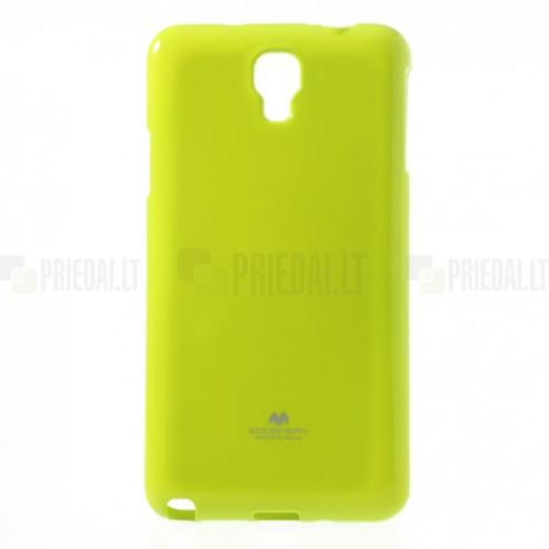 Mercury žalias (salotinis) Samsung Galaxy Note 3 Neo TPU kieto silikono dėklas (nugarėlė)