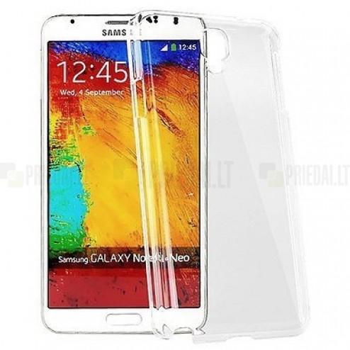 Samsung Galaxy Note 3 (N9005, N9002, N9000) kieto silikono TPU skaidrus dėklas - nugarėlė