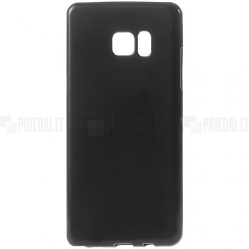 Samsung Galaxy Note 7 (N930) kieto silikono TPU juodas dėklas - nugarėlė