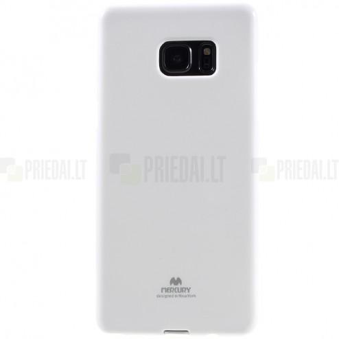 Samsung Galaxy Note 7 (N930) Mercury baltas kieto silikono tpu dėklas - nugarėlė
