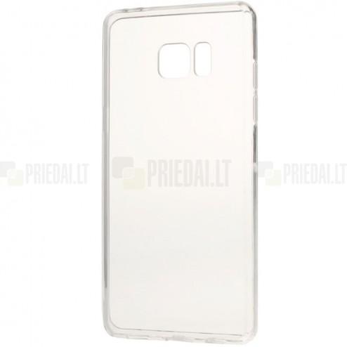 Samsung Galaxy Note 7 (N930) kieto silikono TPU (akrilinis) skaidrus dėklas - nugarėlė