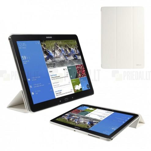 Samsung Galaxy Note Pro 12.2 P905 Belk atverčiamas baltas dėklas