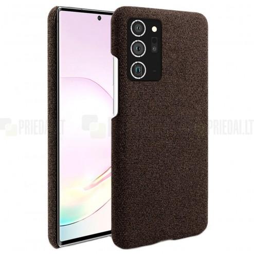 """Fashion"" Samsung Galaxy Note 20 Ultra (N986F) rudas kieto siliko dėklas"