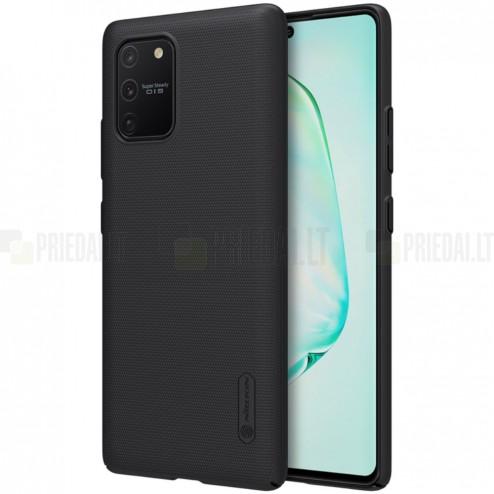 Samsung Galaxy S10 Lite (G970) Nillkin Frosted Shield juodas plastikinis dėklas