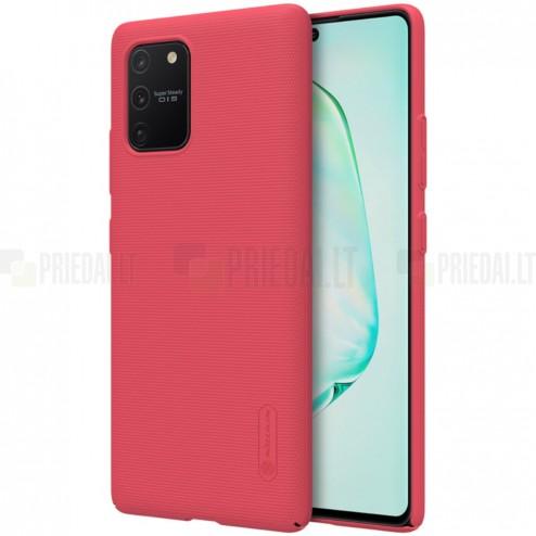 Samsung Galaxy S10 Lite (G970) Nillkin Frosted Shield raudonas plastikinis dėklas