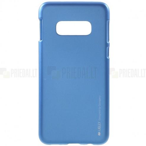 Samsung Galaxy S10e (G970) Mercury mėlynas kieto silikono tpu dėklas - nugarėlė