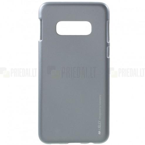 Samsung Galaxy S10e (G970) Mercury pilkas kieto silikono tpu dėklas - nugarėlė