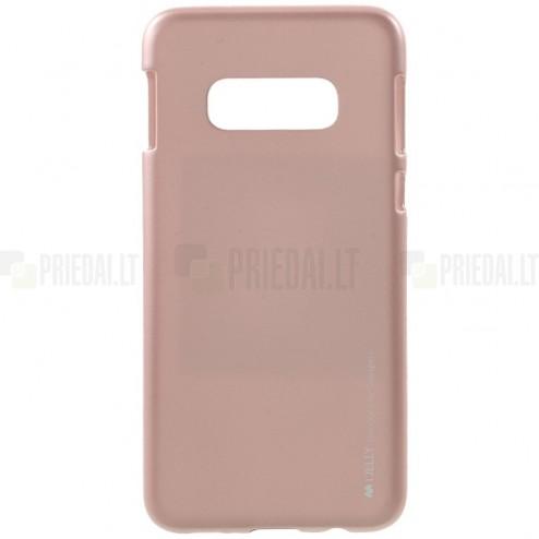 Samsung Galaxy S10e (G970) Mercury šviesiai rožinis kieto silikono tpu dėklas - nugarėlė