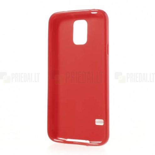 Samsung Galaxy S5 G900 raudonas tpu dėklas